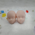 2pcs lot Soft DIY Practice Makeup Doll Heads For Barbie Doll 1 6 For Kurhn BJD