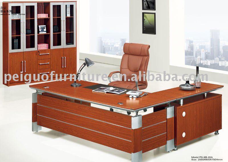 Venta caliente nuevo estilo de madera muebles de oficina ...