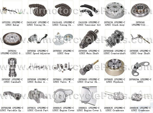 all parts of engine 1p52fmi