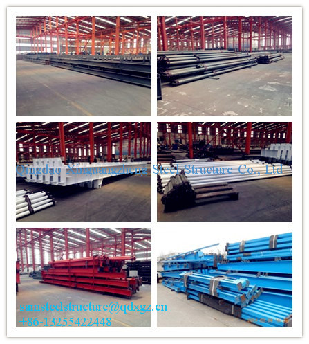 prefab construction design steel truss warehouse