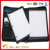 PU Leather 3 Ring Binder Leather Portfolio Binder