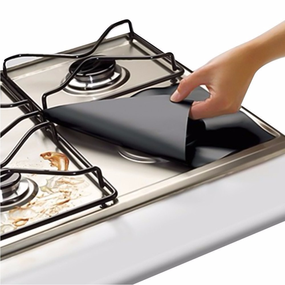 Keep Your HOB Clean Sliver Gas Range Protectors