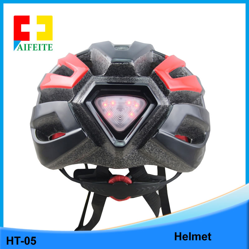 OEM Design Bike Bicycle Cycling Helmet with Colorful Flashing LED Light Adult