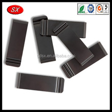 Customized black coating spring steel made metal spring belt clip