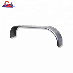 aluminum alloy trailer mudguard fender white for trailers