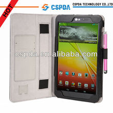 New Arrival leather case for LG G Pad 8.3 inch tablet