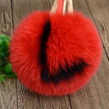 Home Textile,Auto Upholstery,Garment Use and Dyed Pattern fox fur pom poms