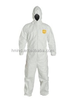 Disposable Microporous coverall with elastic hood,elastic Wrists & Ankles