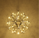 Spark ball star firework chandelier for bar clothing store