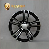 ZUMBO F7137 Suitable For BMW Black Machine Face Replica Alloy Wheels Rims