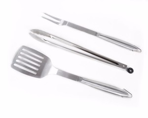 Barbeque Set Bbq Tools Multi 3 Piece Stainless Steel Non Sticked Portable Barbecue Tool Set
