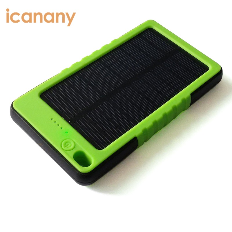 2017 Hotsell Waterproof portable charger power bank, Solar power bank Battery solar charger