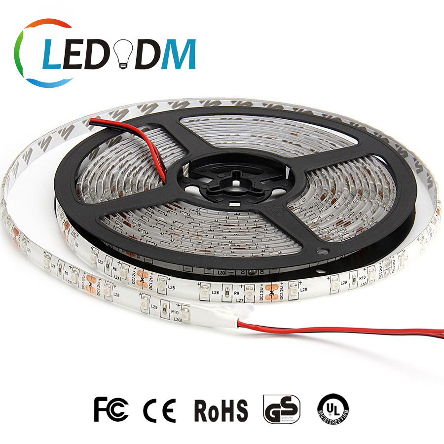 High Quality SMD 3528 Led Strip Light 120 Leds Per Meter 12V With CE ROHS