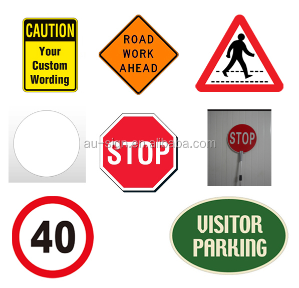 Road Safety Australian Standard Reflective Warning Signs