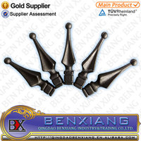 classical widespread decorative/ornamental cast iron wrought iron spears/spearhead/spearpoint
