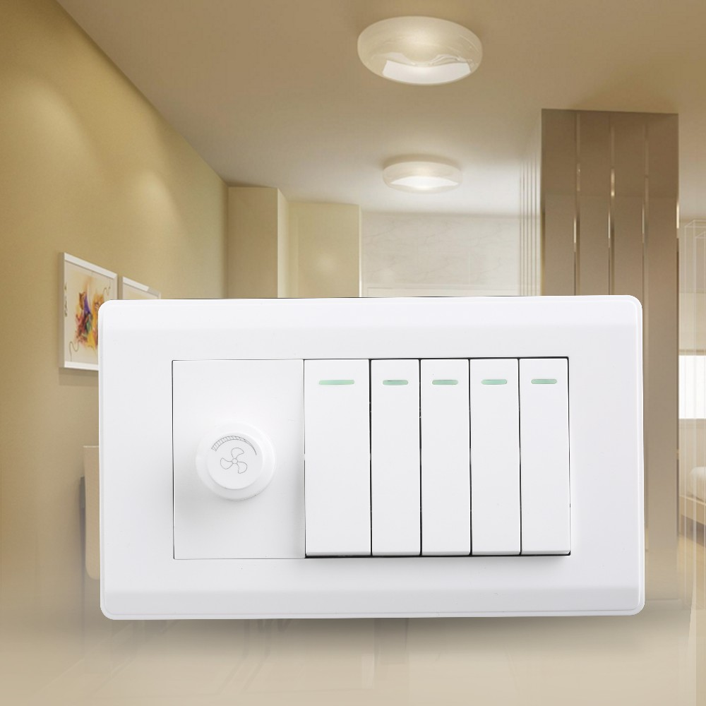 Easy installation Green and eco-friendly inline dimmer switch