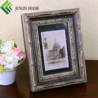 American antique style ornate picture frame