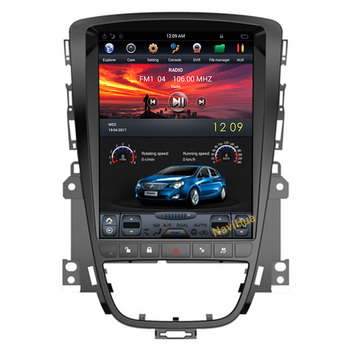 "Tesla NaviHua Vertical Android 7.1 10.4 ""áudio do carro dvd player para Buick Excelle para Opel Astra J 2010- 2014 multimídia"