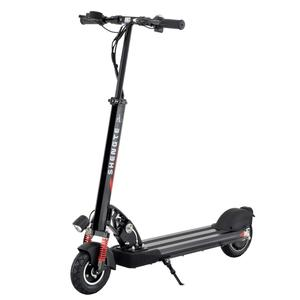 Portable standing electric motorcycle scooter for adults