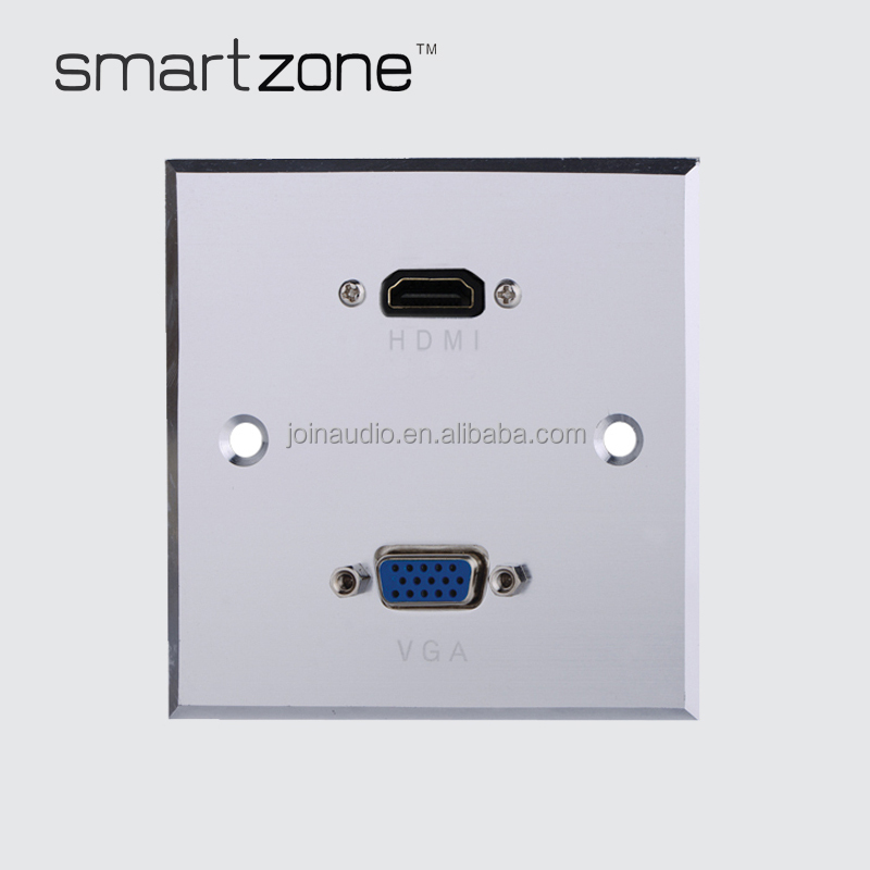 (9.2045)Audio Wall plate HDMI VGA face plate