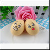 promotional egg squishy toys, cute face squishy bun, custom squishy supplier