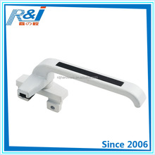 China wholesale powder coated zinc alloy handle for casement window