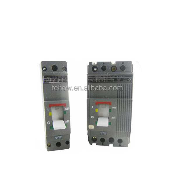 Hot sell 1P 2P 3P 4P low voltage shunt trip circuit breaker