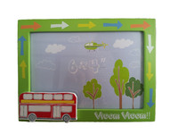 3D Kids Photo Frame, Bus Photo Frame for Boys
