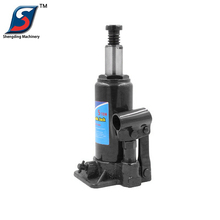 CE Approved portable hydraulic manual operated screw jack
