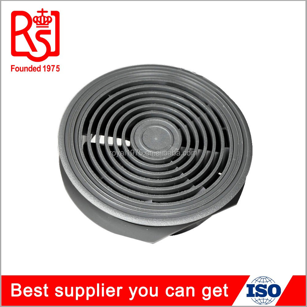 Manufactory metal air diffuser under floor round adjustable jet air conditioning vent diffuser