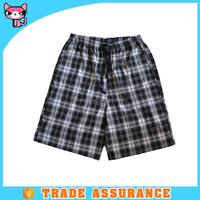 Wholesale yarn dyed soft cotton mens underwear boxer shorts