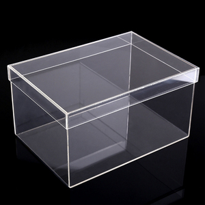 High Quality Hand-Made Colorful Acrylic Perspex Plexiglass Gift Box
