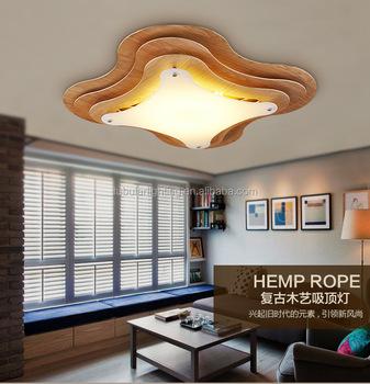 2017 New Home Design Bedroom Lamps, Wooden Pop Ceiling Design Lamps For  Restaurant