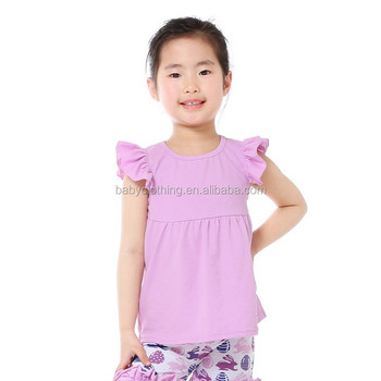 8523699a3 kids clothes lavender flutter sleeve baby shirt stylish formal shirts for  girls
