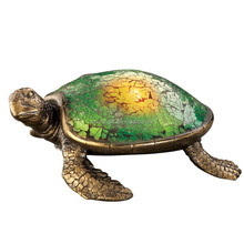 Personalized Handmade Painted Solar Lighted Sea Turtle