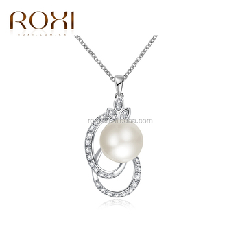pendant designs pearl detail new pakistani necklace product gold model fashion beads white