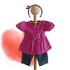 "2017 new arrival fashion american girl doll outfit/wholesale doll clothes/wholesale 18"" doll accessories"