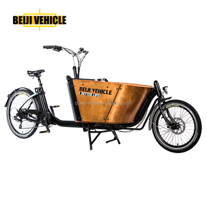 cargo bike electric 2 wheel bike box bicycle