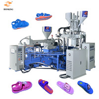 2 color PVC slippers making machine