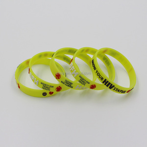 silicon bracelet manufacture cheap customized silicone rubber hand band