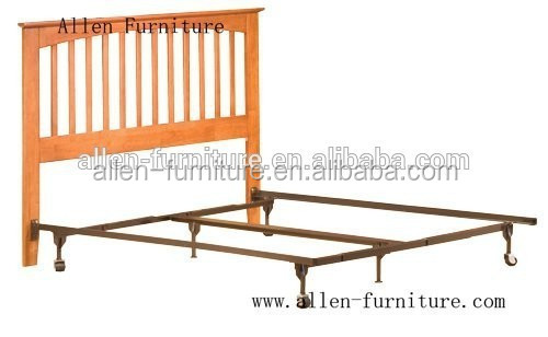 metal bed frame king with wood headboard antique wooden