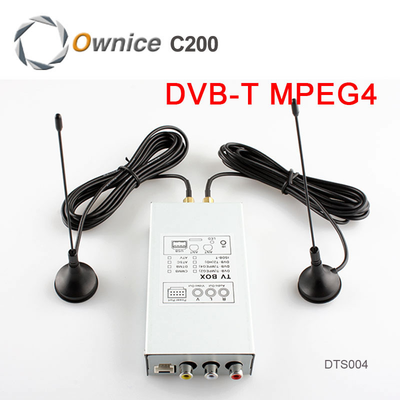 Special DVB-T MPEG4  Digital TV Box For Android 4.2/4.4 Car DVD.The Item Just Fit for our Car DVD