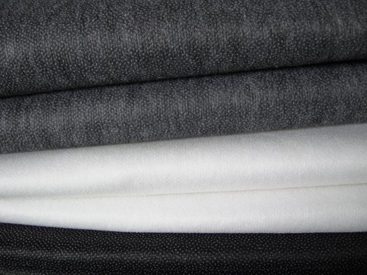 Non woven Fusible double dot interlining