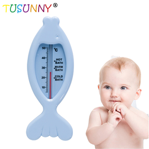 Lovely Fish Shape Baby Bath Shower Water Temperature Measuring Thermometers Children Bath Thermometer
