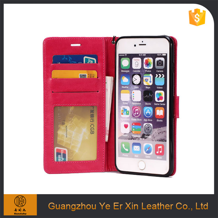 China supplier wholesale OEM leather phone case for iphone 7