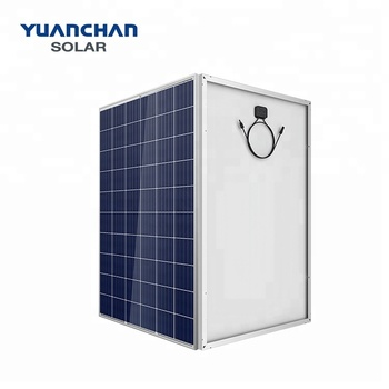 Yuanchan Top One Solar Panel Supplier Low Price 260W Poly Solar Panel TUV CE ISO Certificates