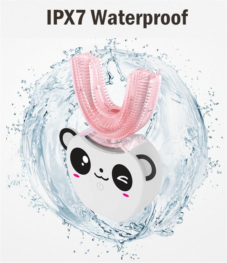 Shenzhen mundpflege produkte fabrik heißer verkauf drahtlose sonic kind elektrische silikon zahnbürste kinder elektrische zahnbürste