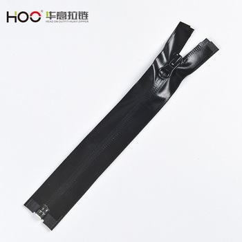 HOO  Eco-friendly Invisible Waterproof close end Nylon  Water Resistant Zipper for cycling ,bags