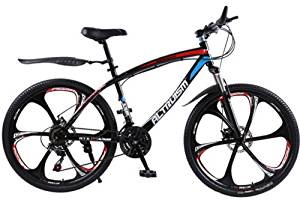 Hot Sales Altruism Mountain Bike Aluminum Alloy 21 Speed 26 Inch Folding Bicycle Black