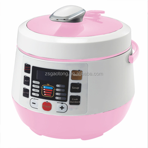 GAOTONG manufacture price 2L 3L ETL FDA certificate multi function rice cooker electric pressure cooker
